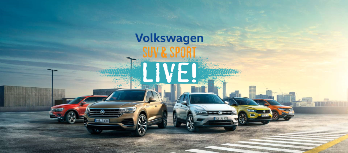 Volkswagen SUV and SPORT Live